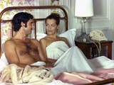 Un Amour by Pluie by Jean Claude Brialy with Romy Schneider and Nino Castelnuovo, 1973 (photo) Photo