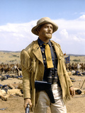 Custer l homme by l ouest by RobertSiodmak with Robert Shaw, 1967 (photo) Photo