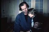 Shining by Stanley Kubrik with Jack Nicholson and Danny Llyod, 1980 (d'apres StephenKing) (photo) Photo