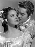Le signe by Zorro MARK OF ZORRO by RoubenMamoulian with Linda Darnell and Tyrone Power, 1940 (b/w p Photo