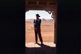 La Prisonniere du Desert THE SEARCHERS by JohnFord with John Wayne, 1956 (photo) Foto