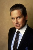 Wall street by Oliver Stone with Michael Douglas, 1987 (photo) Foto