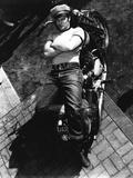 L'Equipee Sauvage THE WILD ONE by Laszlo Benedek with Marlon Brando, 1953 (b/w photo) Foto