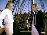 Les revoltes du Bounty Mutiny on the Bounty by LewisMilestone with Marlon Brando and Trevor Howard, Photo