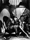 La scandaleuse by Berlin A Foreign Affair by BillyWilder with Marlene Dietrich, 1948 (b/w photo) Foto