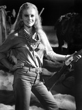 Les Voleurs by Trains THE TRAIN ROBBERS by BurtKennedy with Ann-Margret, 1973 (b/w photo) Foto