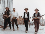 La Horde Sauvage THE WILD BUNCH by Sam Peckinpah with Ben Johnson, Warren Oates, William Holden and Foto