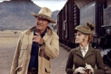 Les Voleurs by Trains THE TRAIN ROBBERS by BurtKennedy with John Wayne and Ann-Margret, 1973 (photo Foto