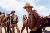 Les Voleurs by Trains THE TRAIN ROBBERS by BurtKennedy with Ben Johnson, Christopher George, Rod Ta Foto