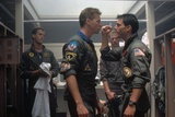 Top Gun by Tony Scott with Val Kilmer and Tom Cruise, 1986 (photo) Photo