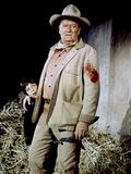 Big Jake by George Sherman and John Wayne with John Wayne, 1971 (photo) Foto