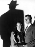 Le Troisieme Homme THE THIRD MAN by Carol Reed with Alida Valli and Joseph Cotten, 1949 (b/w photo) Photo