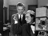 le cameraman (the cameraman) by Edward Sedgwick with Buster Keaton, 1928 (b/w photo) Photo