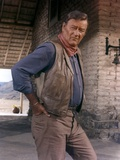 Les Voleurs by Trains THE TRAIN ROBBERS by BurtKennedy with John Wayne, 1973 (photo) Foto