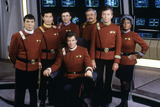 Cast of Star Trek V: The Final Frontier, 1989 (photo) Photo