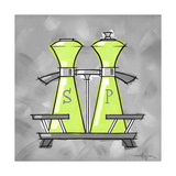 3-Salt and Pepper Lime Giclee Print by Larry Hunter