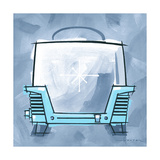 Blue On Blue Toaster Giclee Print by Larry Hunter