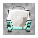 4-Toaster Aqua Giclee Print by Larry Hunter