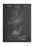 PP859-Chalkboard Golf Sand Wedge Patent Poster Giclee Print by  Cole Borders