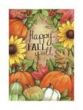 Happy Fall Pumpkins Giclee Print by Melinda Hipsher