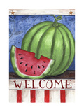 Watermelon Welcome Giclee Print by Melinda Hipsher
