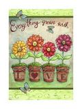 Daisy Garden Love Giclee Print by Melinda Hipsher