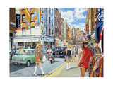 Carnaby Street in the 60s Giclee Print by Trevor Mitchell