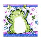 Happy Frog Reproduction procédé giclée par Valarie Wade