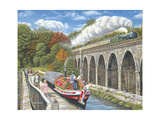 Canalside Memories Giclee Print by Trevor Mitchell