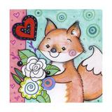 Flowers For Fox Reproduction procédé giclée par Valarie Wade