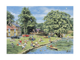 Summer Picnics Giclee Print by Trevor Mitchell