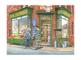 The Corner Shop Giclee Print by Trevor Mitchell