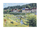 Hutton-le-Hole, North Yorkshire Giclee Print by Trevor Mitchell