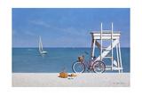 Beach Bike 3 Giclee Print by Zhen-Huan Lu