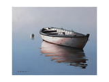 Lonely Boat 2017 Giclee Print by Zhen-Huan Lu