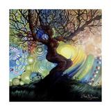 Tree Of Life - Celebration Impressão giclée por Cherie Roe Dirksen