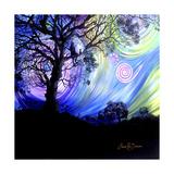 Aurora Borealis Dreaming Impressão giclée por Cherie Roe Dirksen
