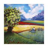 Picnic In The Winelands Impressão giclée por Cherie Roe Dirksen