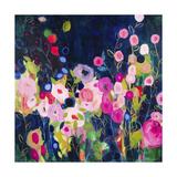 Blue Garden HR Giclee Print by Carrie Schmitt