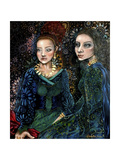 Wallflower Muses Impressão giclée por Cherie Roe Dirksen
