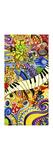 Colorful Music Collage Impressão giclée por Cherie Roe Dirksen