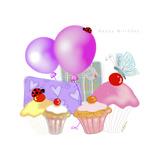 Birthday Treats Impressão giclée por Cherie Roe Dirksen