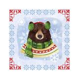 Winter Bear Giclee Print by Fiona Stokes-Gilbert