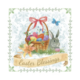 Spring Basket Giclee Print by Fiona Stokes-Gilbert