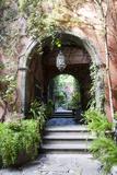 Mexico, San Miguel de Allende, Street archway. Premium-Fotodruck von Hollice Looney