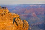 Arizona, Grand Canyon National Park, South Rim, Mather Point, Sunrise Premium Photographic Print by John & Lisa Merrill
