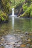 Oregon, Columbia River Gorge National Scenic Area, Punch Bowl Falls Premium Photographic Print by John & Lisa Merrill