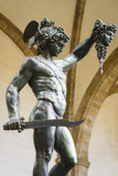 Perseus and Medusa statue at Loggia dei Lanzi, Florence, Tuscany, Italy Reproduction photographique Premium par Russ Bishop