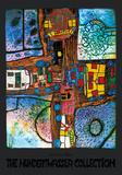 Crossroads Plakater af Friedensreich Hundertwasser