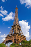 Eiffel Tower. Paris, France Reproduction photographique Premium par Russ Bishop